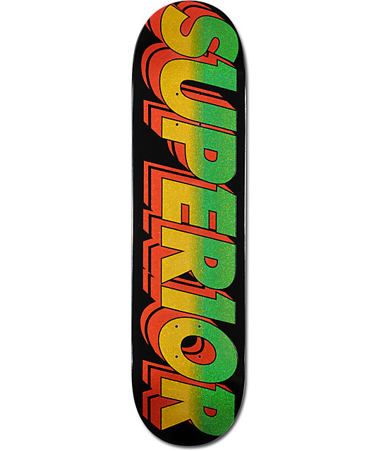 "Superior Moto Star 8.0""  Skateboard Deck"