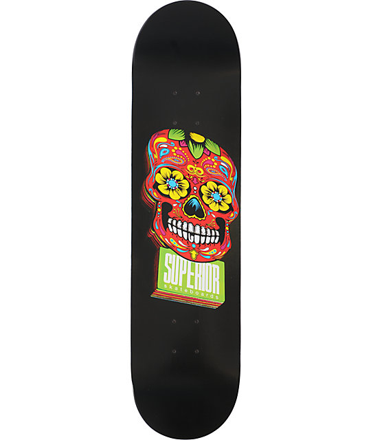 Superior Skateboards Woody Black 8