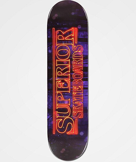 """Superior Stranger Boards 8.0"""" Skateboard Deck"""