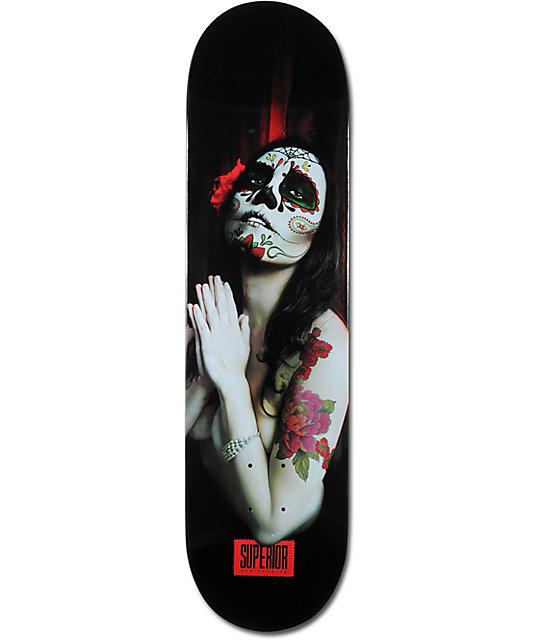"Superior Sugar Rosa 8.1""  Skateboard Deck"