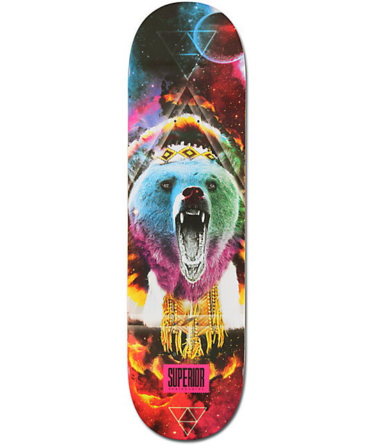 "Superior Uzumati 8.4""  Skateboard Deck"
