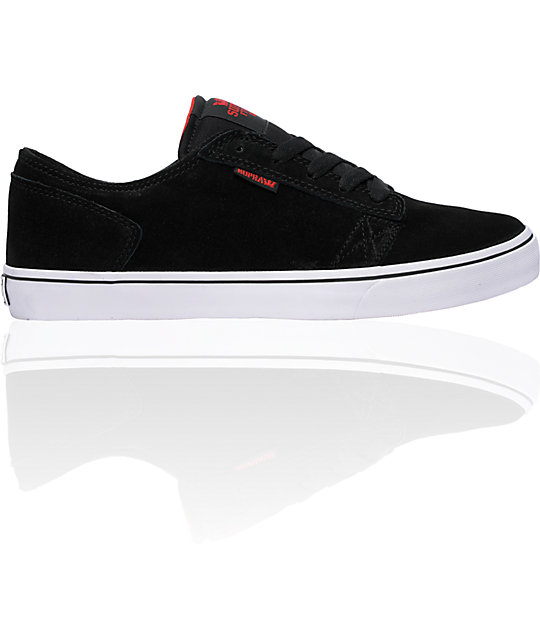 Supra Amigo Black Suede Shoes