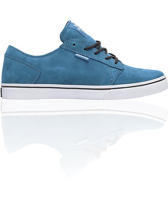 Supra Amigo Blue Suede Skate Shoes