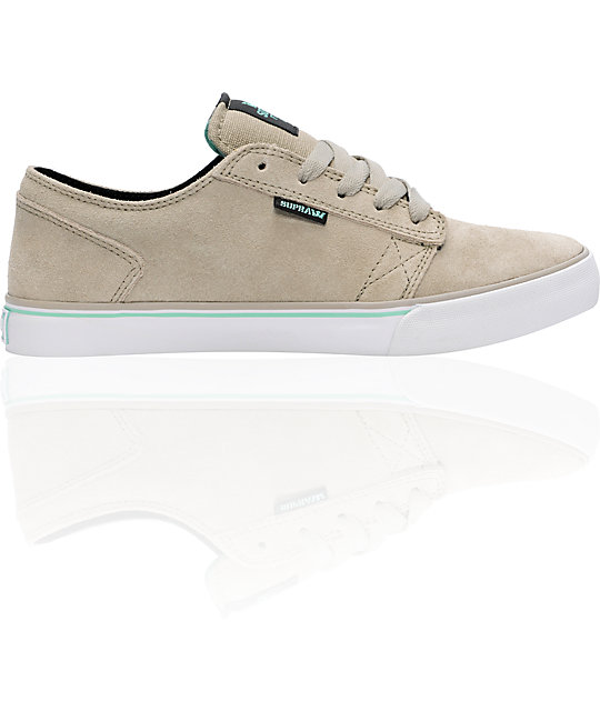 Supra Amigo Khaki Suede Shoes