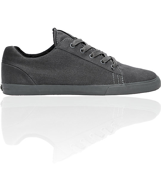Supra Assault Grey Canvas Shoes