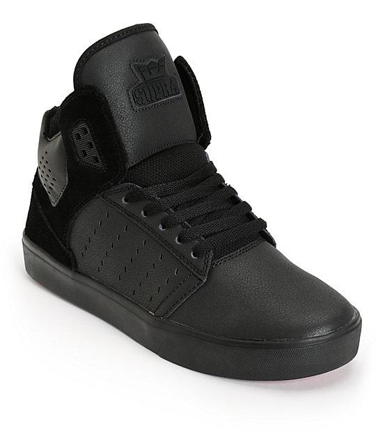 route one supra,Supra Vaiders Shoes (Black / White / Gray),Supra