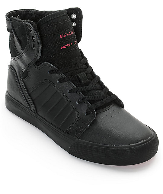 Supra Boys Skytop Red Carpet Tuf Skate Shoes