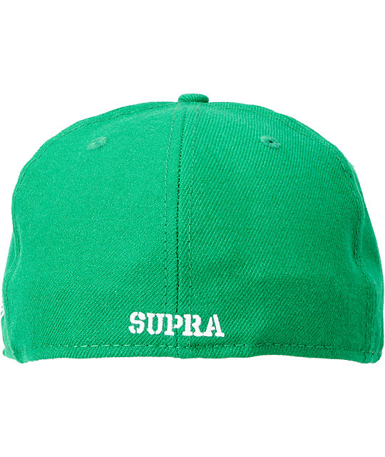 Supra Crown Green New Era Fitted Hat