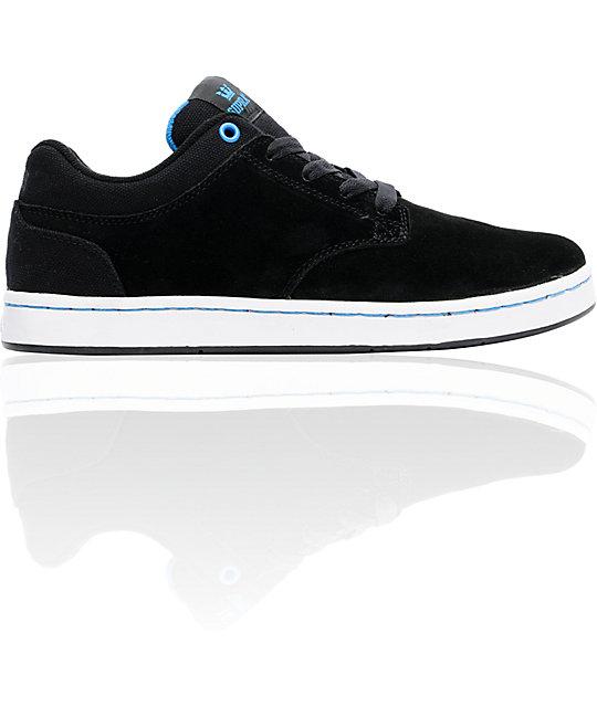 Supra Dixon Black Suede Shoes