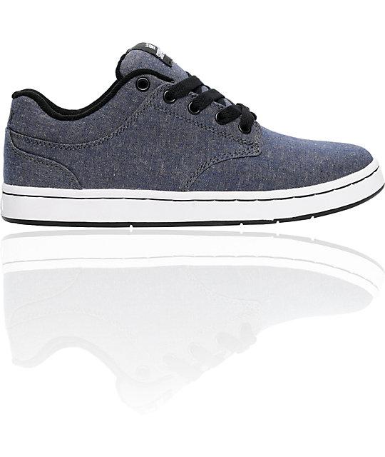 Supra Dixon Blue Chambray Shoes
