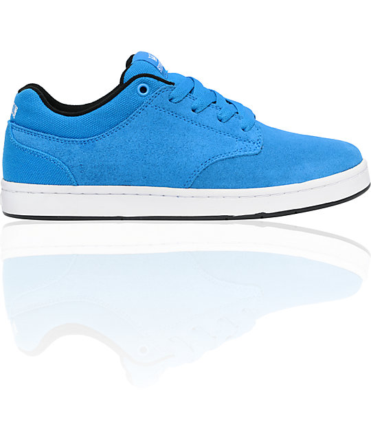 Supra Dixon Blue Suede Shoes