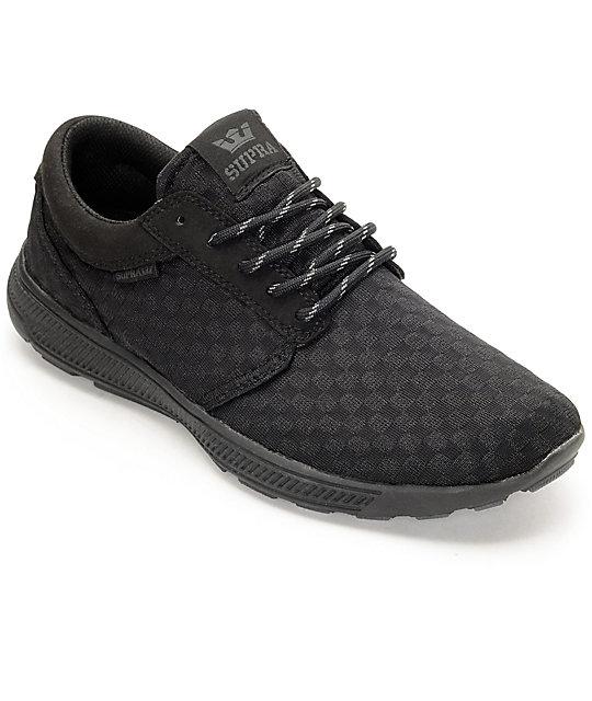 Supra Hammer Run Black Shoes