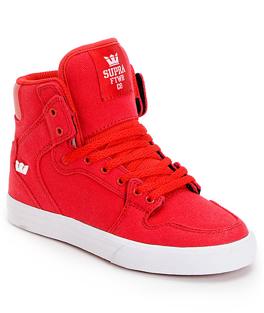 High Top Shoes. Showing 48 of results that match your query. Search Product Result. Kids Tie Up Slip on Canvas Sneakers With Laces for Children- Girls and Boys (13 Kids, All Black) Product - Girls High Top Casual Sneaker Product - Tweety Girls' High Top Sneaker. Product Image. Price $