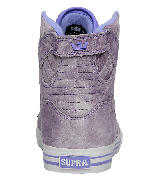 Supra Muska Skytop Purple Tie Dye Shoes
