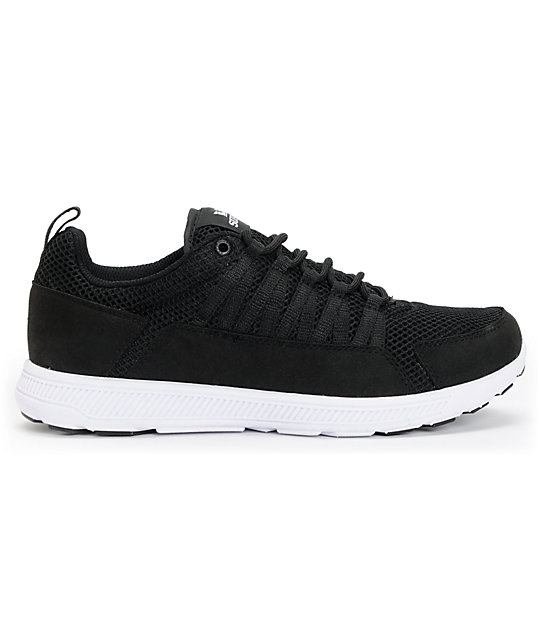 Supra Owen Black & White Shoes