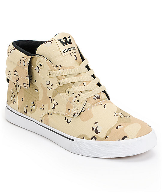 Supra Passion Desert Camo & White Skate Shoe at Zumiez : PDP