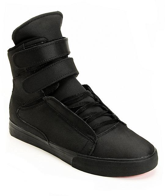 Supra Red Carpet Edition Tk Society Tuf Black Shoes At