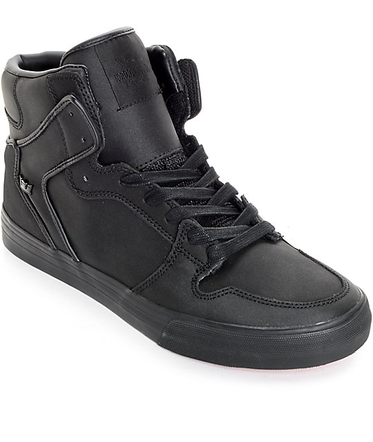 Supra Red Carpet Edition Vaider Tuf Black Shoes At Zumiez