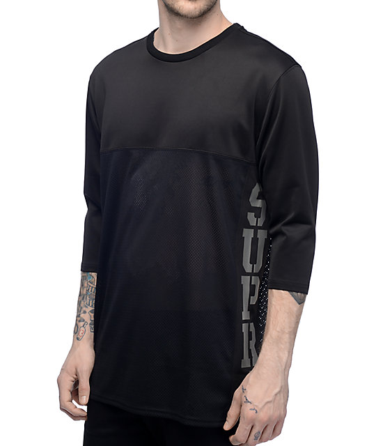 Supra Rival Black Jersey