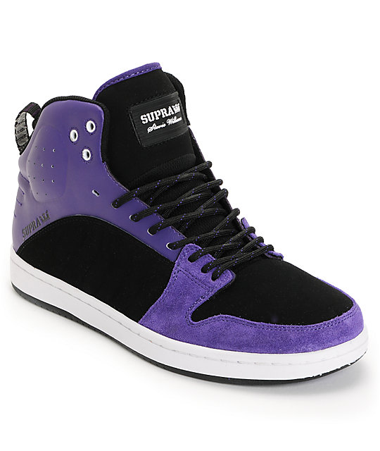 Supra Mid Top Skate Shoes