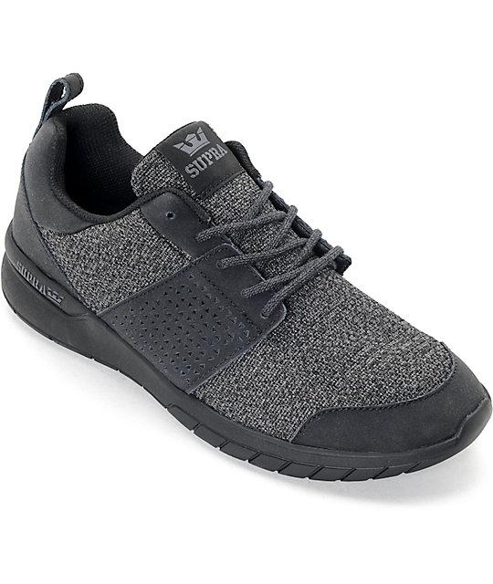 En Negro Supra Carbón Scissor Zapatos Y Color DWEH29I