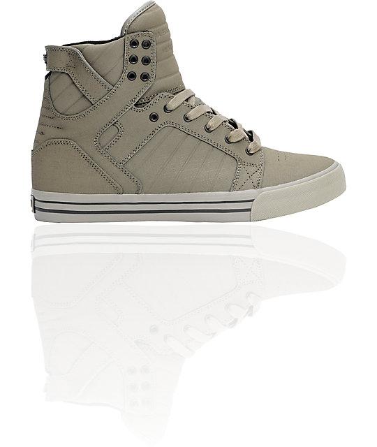 Supra Skytop Army Gunny Tuf Shoes