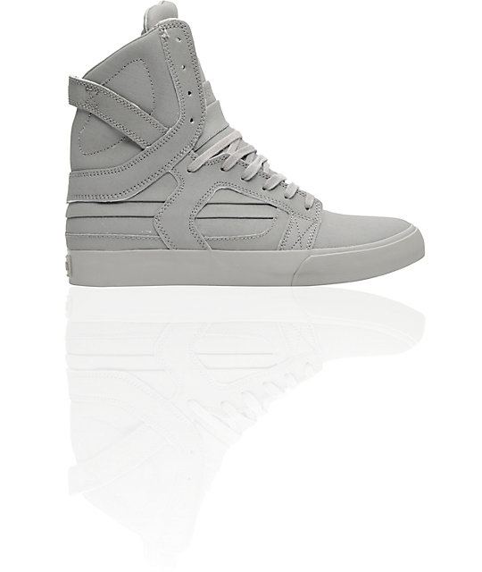 Supra Skytop II Grey Gunny Tuf Shoes