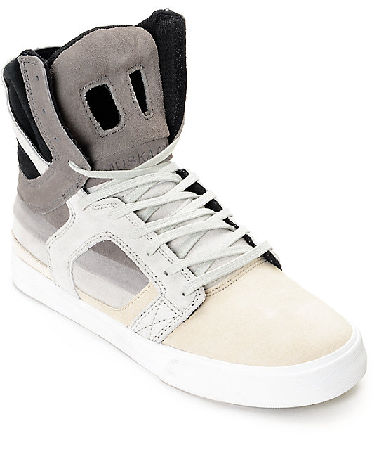 Supra Skytop II Transitions Decade X Grey Ice Skate Shoes