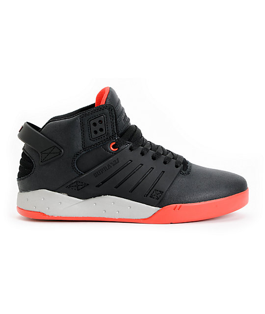 Supra Red Skytop Skate Shoes Zumiez