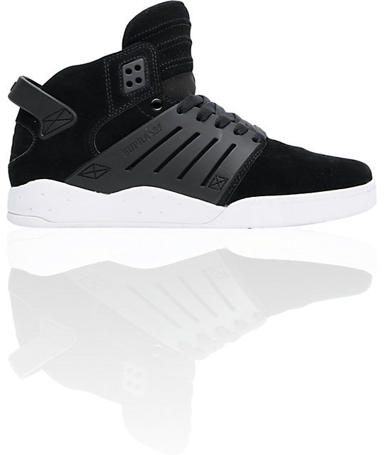 Supra Skytop III Black Suede Shoes