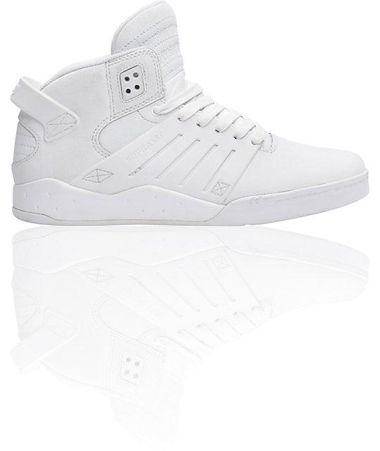Supra Skytop III White Gunny Tuf Shoes