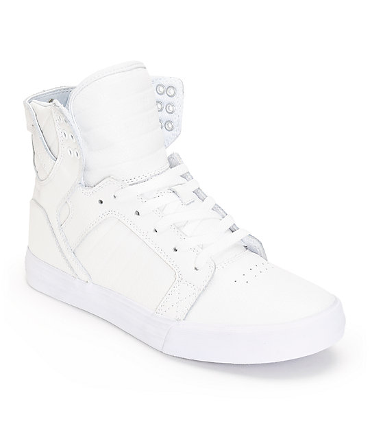 supra skytop leather skate shoes at zumiez pdp