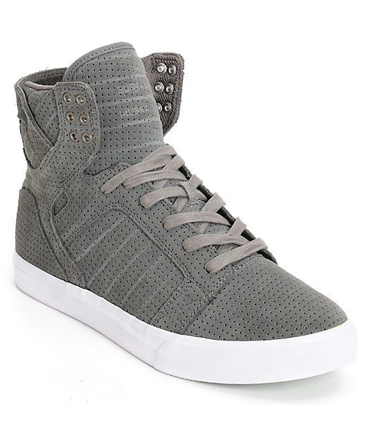 Supra Skytop Micro Perforated Skate Shoes