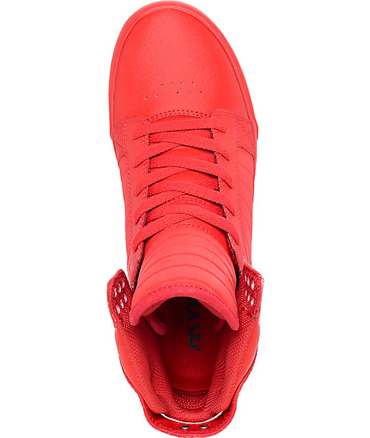 Supra Skytop Mono Tuf Satin Skate Shoes