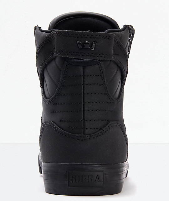 Supra Skytop Muska Red Carpet Edition Tuf Black Skate