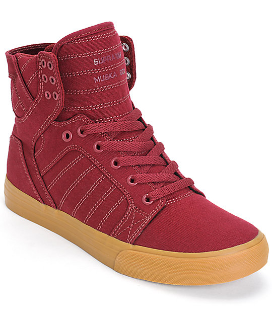 Supra Skytop Skate Shoes