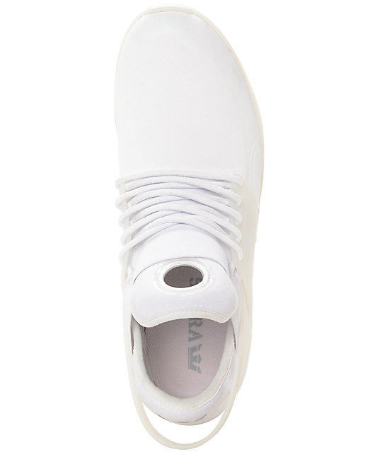 Supra Skytop V Mono White Skate Shoes