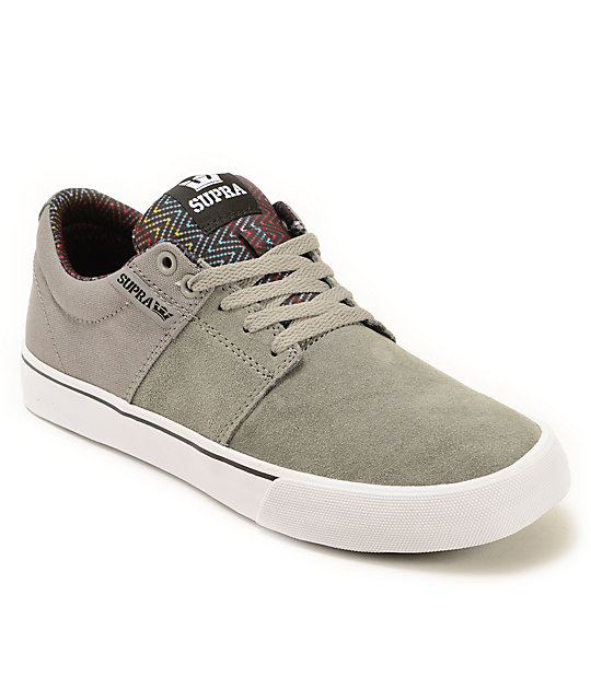 Supra Stacks 2 Vulc Print Skate Shoes