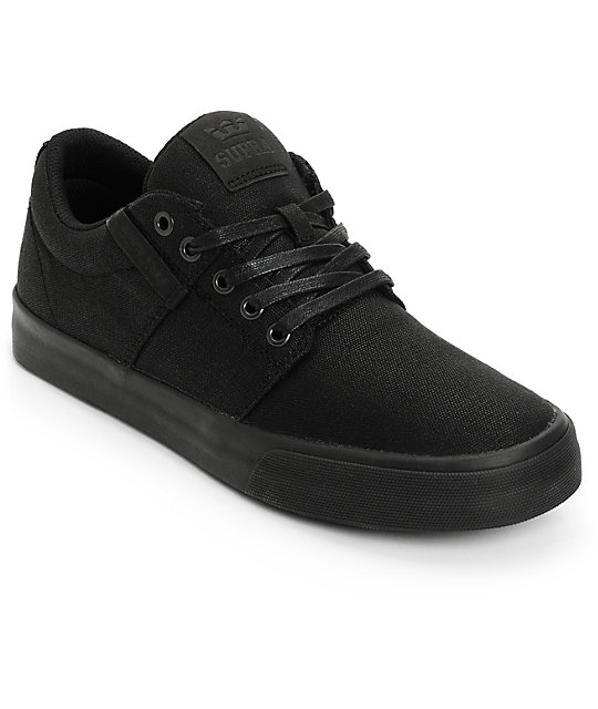 Supra Stacks II Vulc Waxed Canvas Skate Shoes