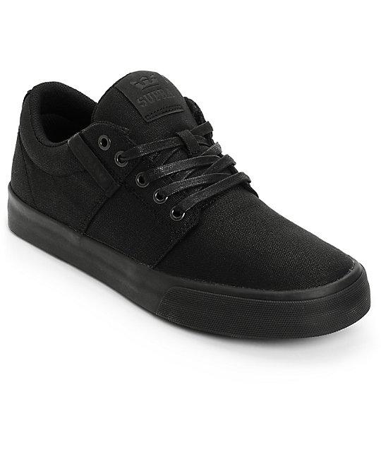 supra stacks ii vulc waxed canvas skate shoes zumiez