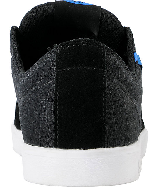 Supra Stacks Ripstop Black & Blue Shoes