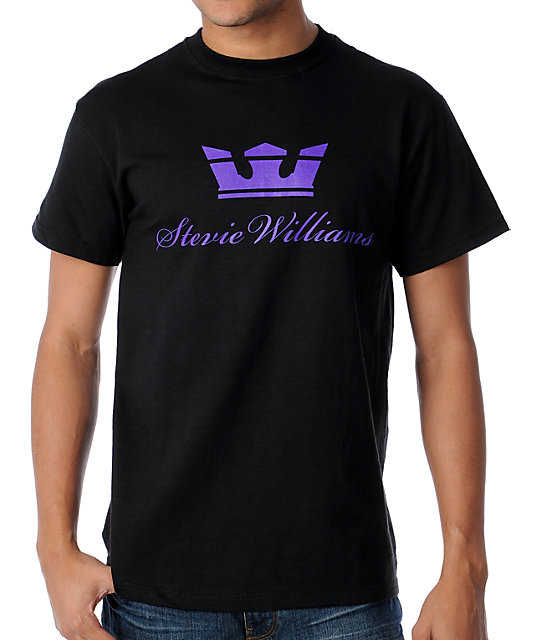 Supra Stevie Williams Black T-Shirt