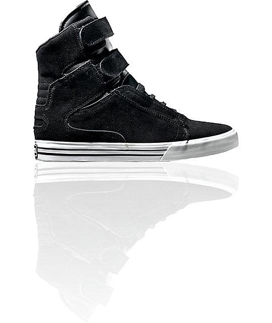 Supra TK Society Black Suede Shoes