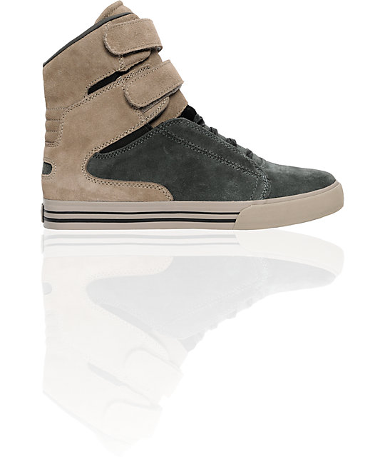 Supra TK Society Grey Suede Shoes