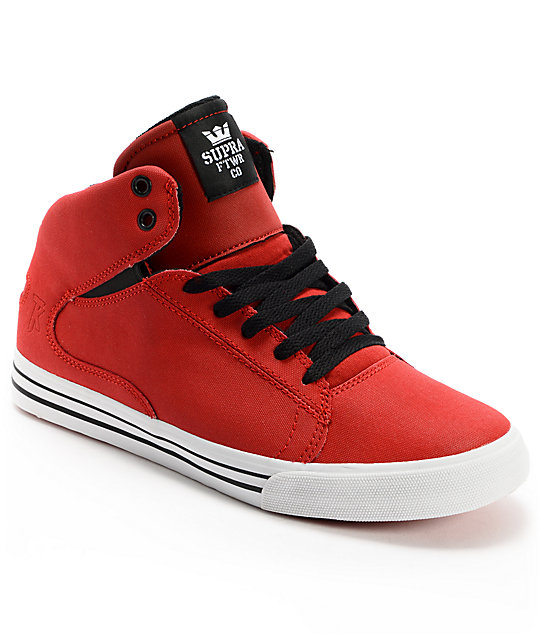 Supra TK Society Mid Red Tuf Shoes
