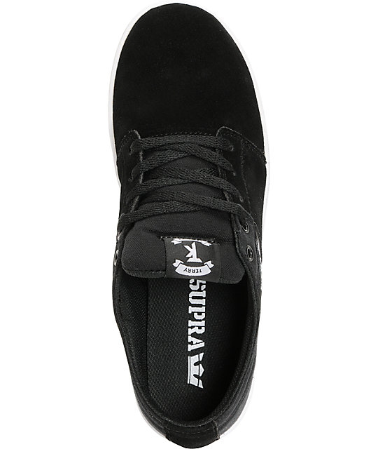 Supra TK Stacks Black & White Shoes