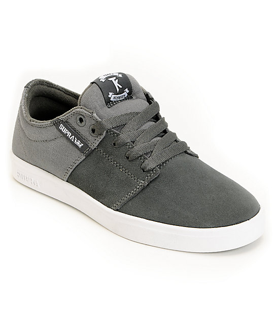 Supra TK Stacks Charcoal Skate Shoes