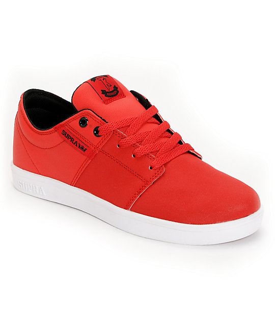 Supra TK Stacks Red Express Tuf Skate Shoes