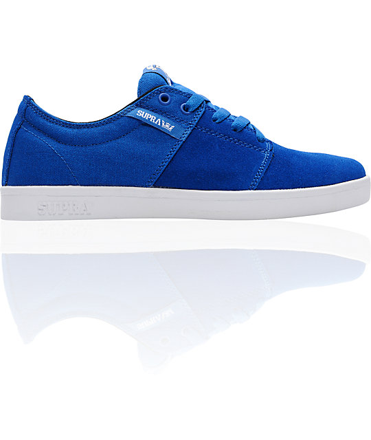 Supra TK Stacks Royal Blue Skate Shoes