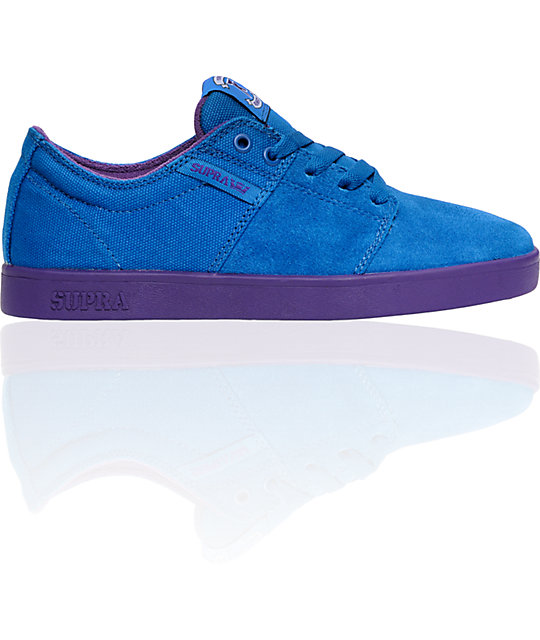 Supra TK Stacks Royal Suede & Canvas Shoes